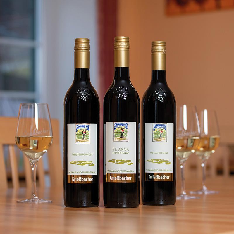 Unsere Weine - Weinbau Grießbacher - Jamm