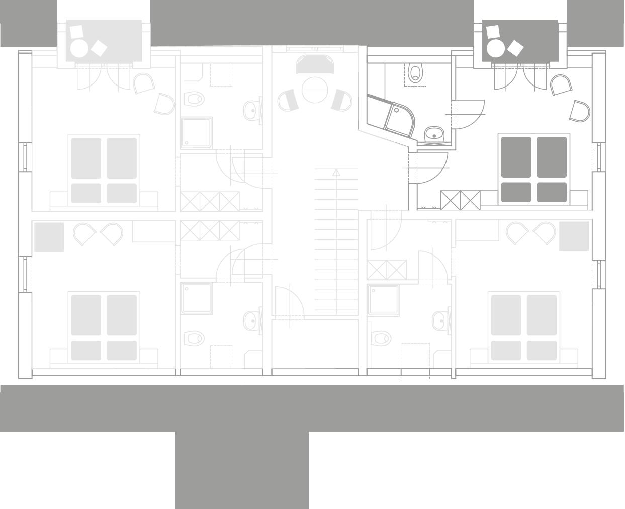 Zimmerplan - Alte Presse